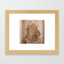 Medicine Man Framed Art Print