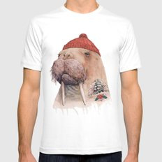 Tattooed walrus X-LARGE White Mens Fitted Tee