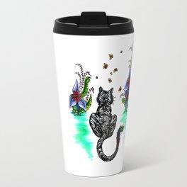 Tiger Paint Travel Mug