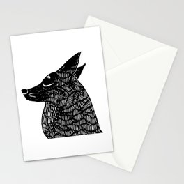 silent treatment Stationery Cards