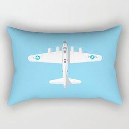 B-17 WWII Bomber - Sky Rectangular Pillow
