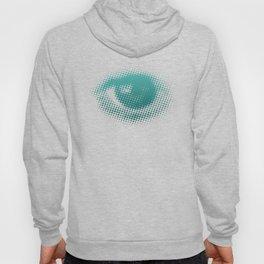 Halftone Eyeball Trippy Eyes Hoody