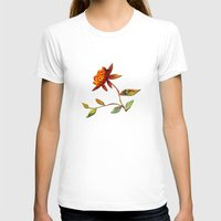 andreas preis T-shirts featuring Sunflower Abstract by Klara Acel