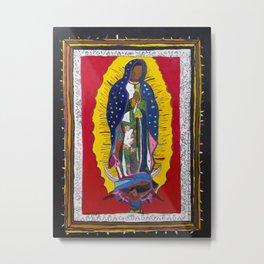 Virgen by Numbers Metal Print