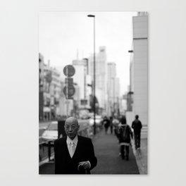 Tokyo Man Canvas Print