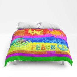 Love Peace Comforters
