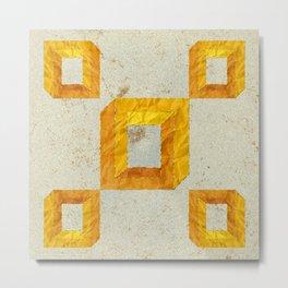 Impossible cubes Metal Print