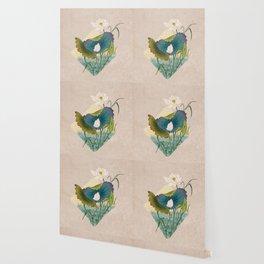 lotursflowers C : Minhwa-Korean traditional/folk art Wallpaper