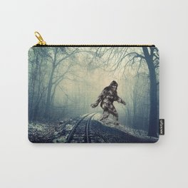 Misty Railway Bigfoot Crossing Carry-All Pouch