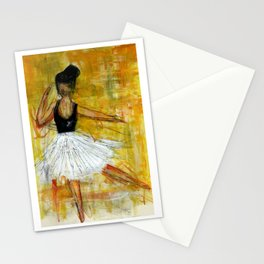 Ballerina in Motion IV Stationery Cards