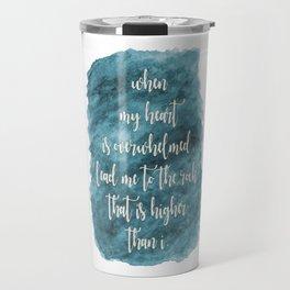 Lead Me - Teal Travel Mug