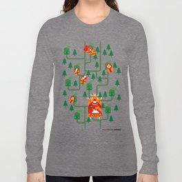 Santa Claus' Sleigh! Long Sleeve T-shirt
