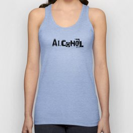 Alcohol Unisex Tank Top