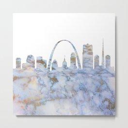 Saint Louis Missouri Skyline Metal Print