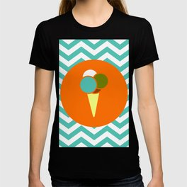 Ice Cream Cone - Cute Summer Accessories Collection T-shirt