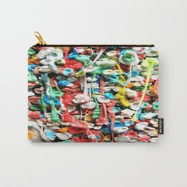 Gum Wall was once cleaned, then this happened. Carry-All Pouch