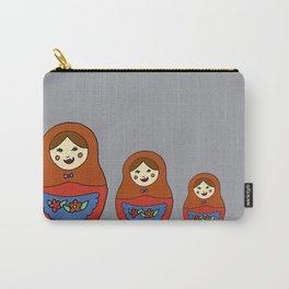 3 Matroyshkas Carry-All Pouch