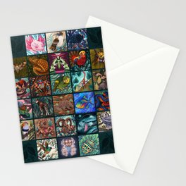 The Unusual Animal Alphabet Stationery Cards