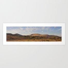 Pilanesberg Panoramic Art Print