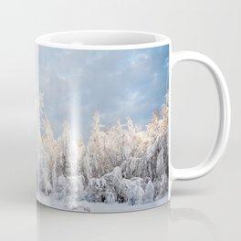 Snowy Tree Horizion Coffee Mug