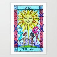 The Sun - Tarot Art Print