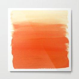 Desert Orange Metal Print
