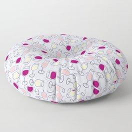 Wine Time Floor Pillow