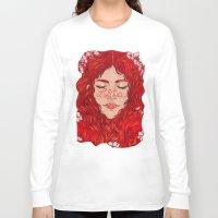 lolita Long Sleeve T-shirts featuring Lolita  by Nicolae Negura