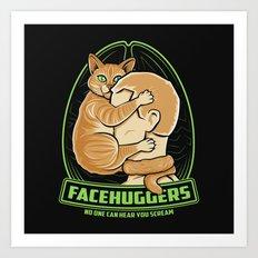 Facehuggers  Art Print