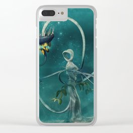 Damnation - version 1 Clear iPhone Case