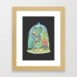 Glass jar Framed Art Print