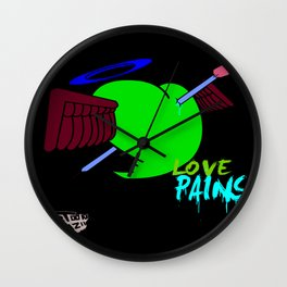 Love Pains Wall Clock