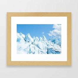 The Ice Climber Framed Art Print