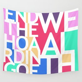 End the Hoarding of Wealth Wall Tapestry