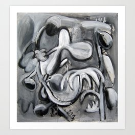 Palmeras salvajes. Art Print