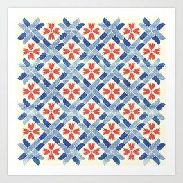 Mediterranean Mosaic Art Print