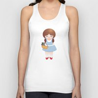 dorothy Tank Tops featuring Dorothy doll by Pendientera