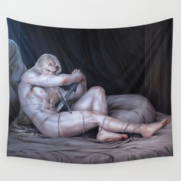 The Tragic Prince Wall Tapestry