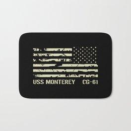 USS Monterey Bath Mat