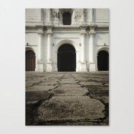 Catedral del Salvador Canvas Print