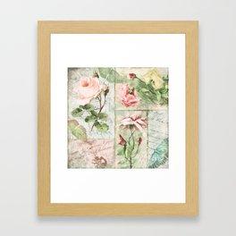 Belles Fleurs I Framed Art Print
