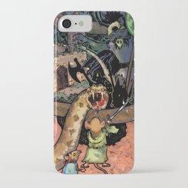 Bravery in Sandstone iPhone Case