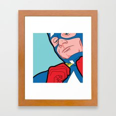 SLOH - Captain Doubt Framed Art Print
