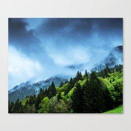 Charming Winter Canvas Print