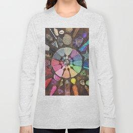 Rainbow Tassel Creative Inspiration Long Sleeve T-shirt