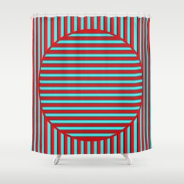 Barred Shower Curtain