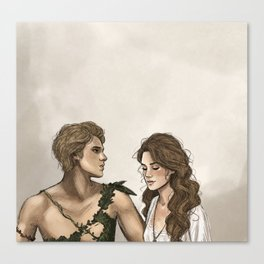 Peter and Wendy Canvas Print