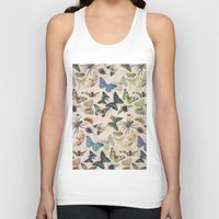 insect Tank Tops featuring Insect Jungle by Galvanise The Dog