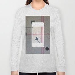 Sum Shape - iPhone graphic Long Sleeve T-shirt