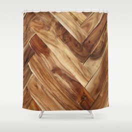 panels Shower Curtain